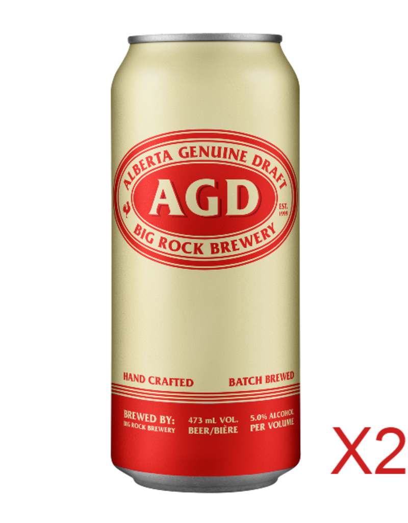 AGD Tall Can - 24 Can Flat (ON)