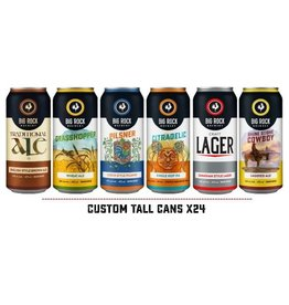 Big Rock Brewery Tall Can Variety - 24 Can Flat (ON)