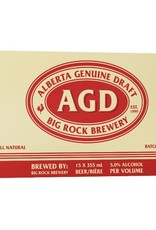 Big Rock Brewery AGD 15 Can