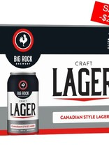 Big Rock Brewery Craft Lager 12 Can (ED)