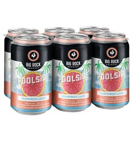 Big Rock Brewery Poolside Grapefruit Lager 6-Can