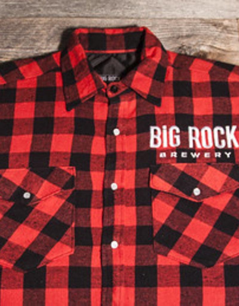 Big Rock Brewery Buffalo Plaid Jacket