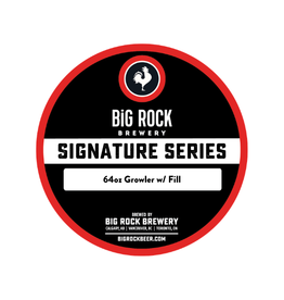 Big Rock Brewery Signature Series - 64oz Growler