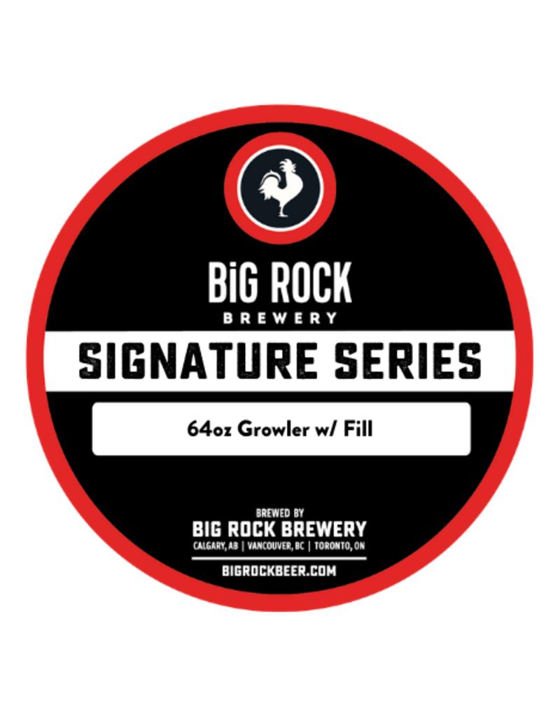 Big Rock Brewery Signature Series - 64oz Growler