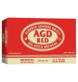 Big Rock Brewery AGD Red 15 Can