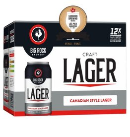 Big Rock Brewery Craft Lager 12 Can