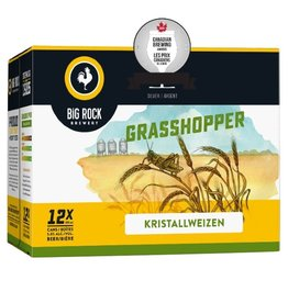 Big Rock Brewery Grasshopper 12 Can