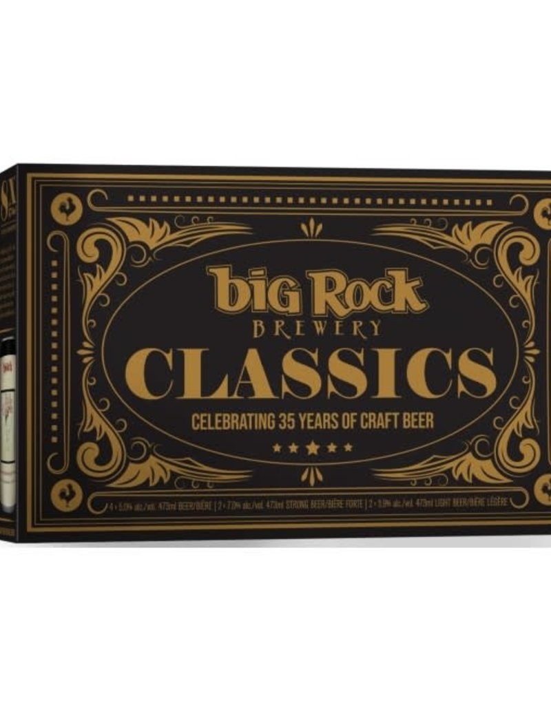 Big Rock Brewery Classics 8x473 Pack