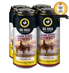 Big Rock Brewery Rhine Stone Cowboy 4-Pack Tall Cans