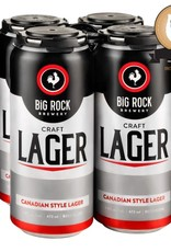 Big Rock Brewery Craft Lager - 4 Pack Tall Can (ON)