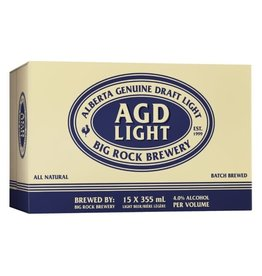 Big Rock Brewery AGD Light 15 Can