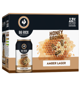 Big Rock Brewery Honey Brown 15 Can (ON)