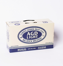 Big Rock Brewery AGD Light Lager - 15 Pack (ON)