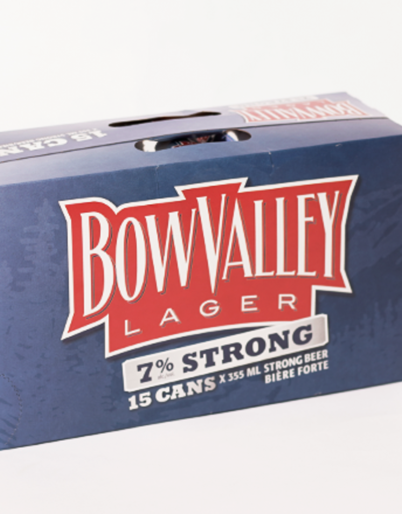 Bow Valley Strong Lager - 15 Pack (ON)