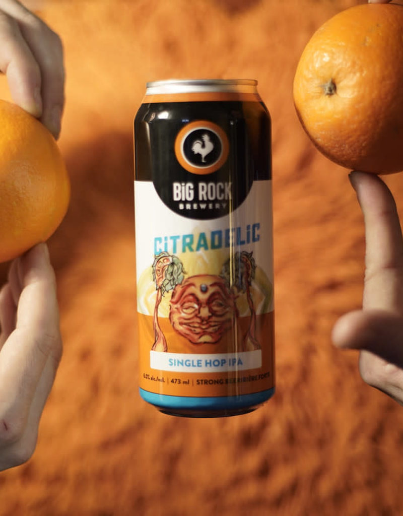 Big Rock Brewery Citradelic IPA - 4 Pack (ON)