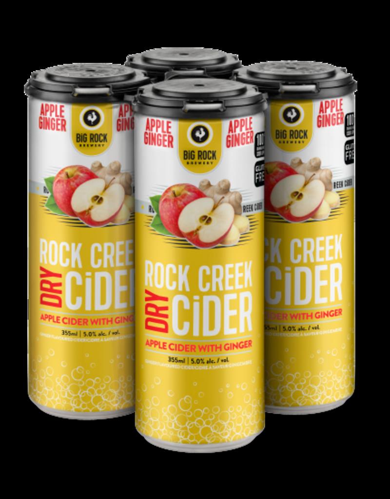 Rock Creek Cider Apple Ginger 4 Can