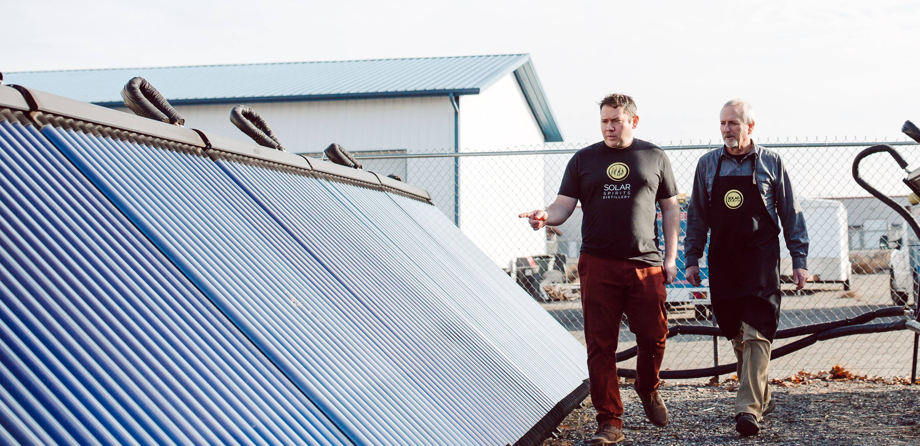 <h2>Powered by the sun</h2><p>Our mash process is powered by solar tubes. We put the power of the sun in every bottle.</p>