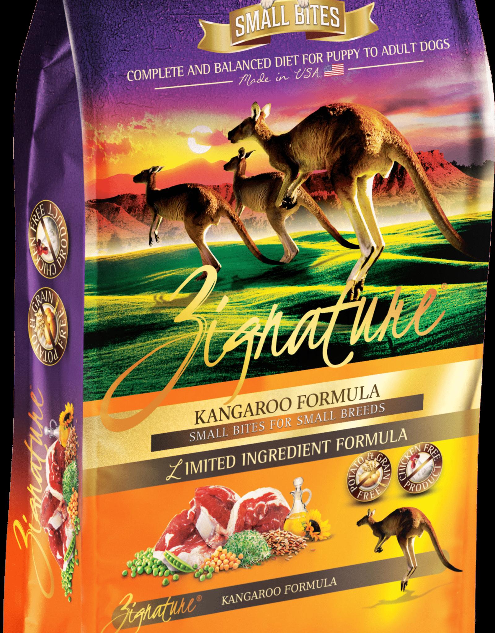 Zignature Zignature Small Bites Dry Dog Food