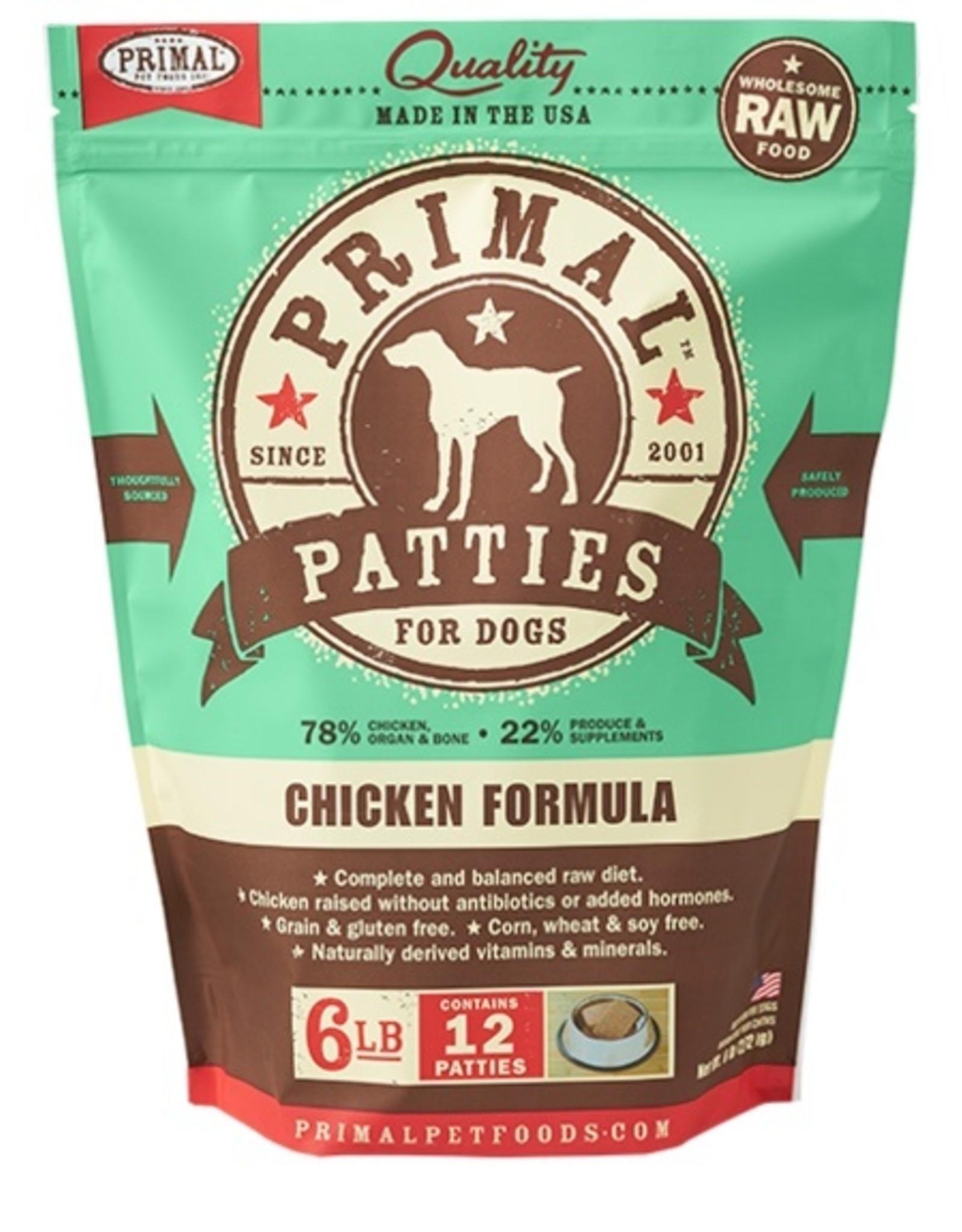 Primal Primal Frozen Patties