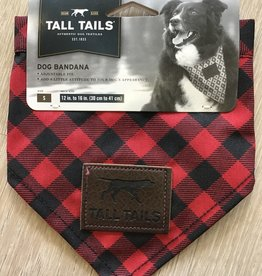 Tall Tails Bandana Red Small