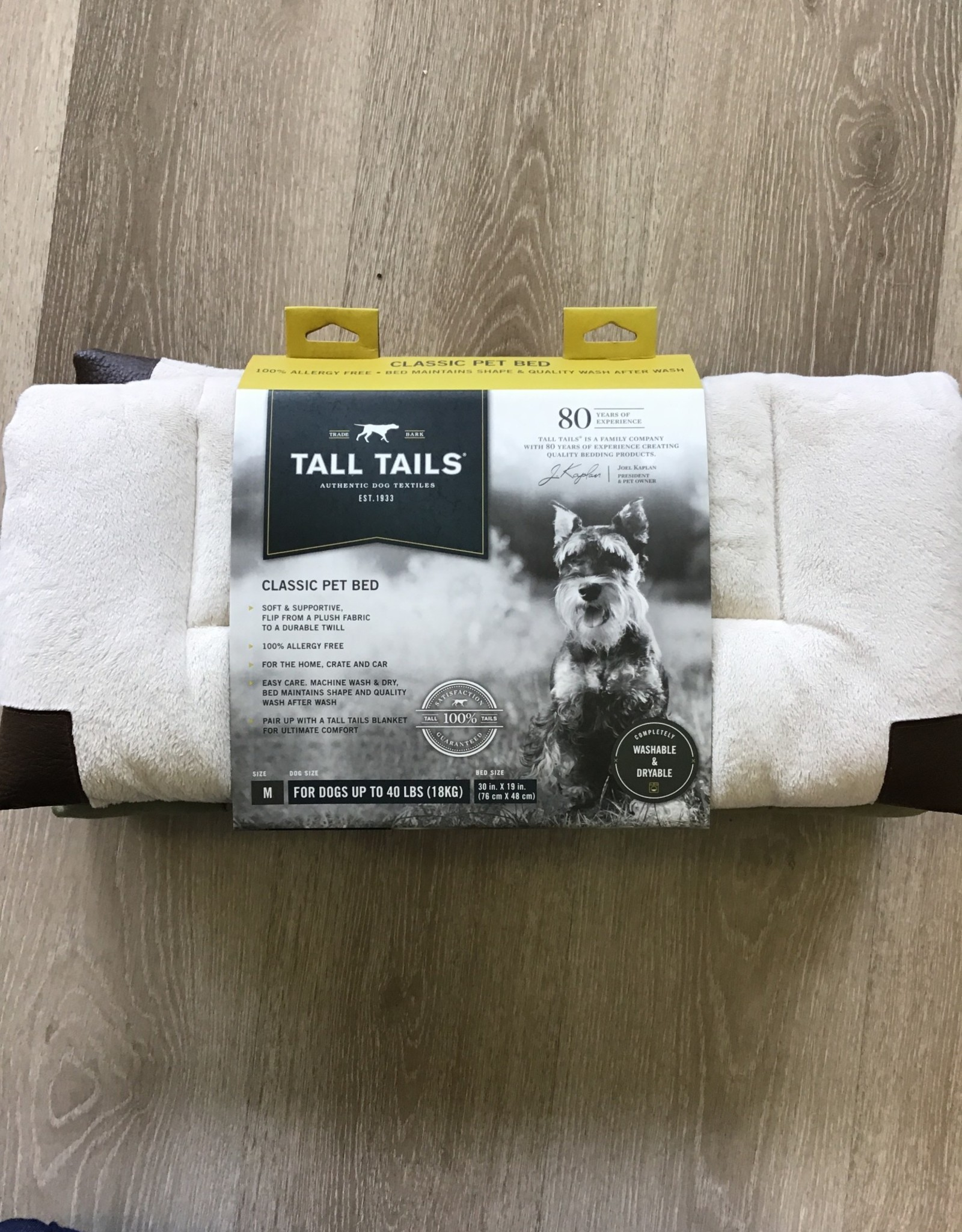 Tall Tails Cream Fleece Dog Crate Bed