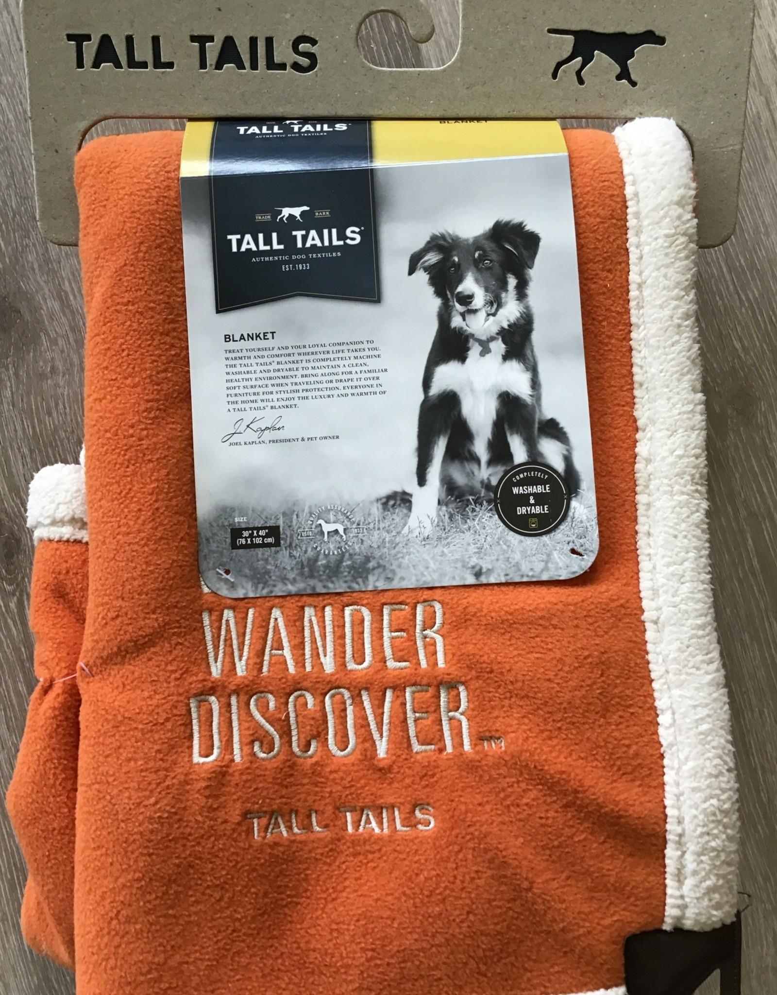 Tall Tails Explore Fleece Blanket