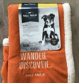 Tall Tails Explore Fleece Blanket
