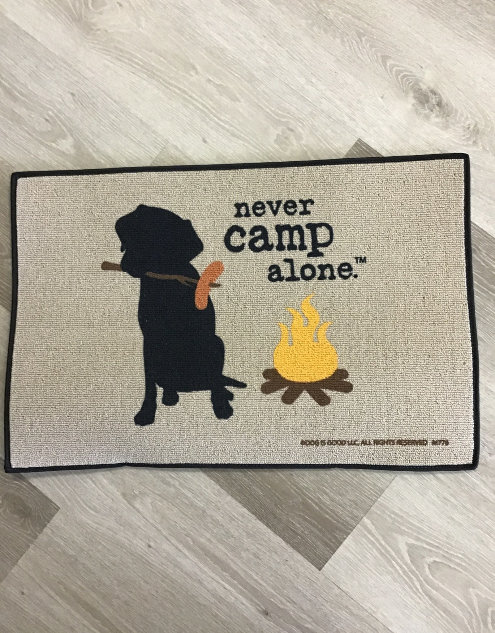 High Cotton Inc Never Camp Alone Doormat