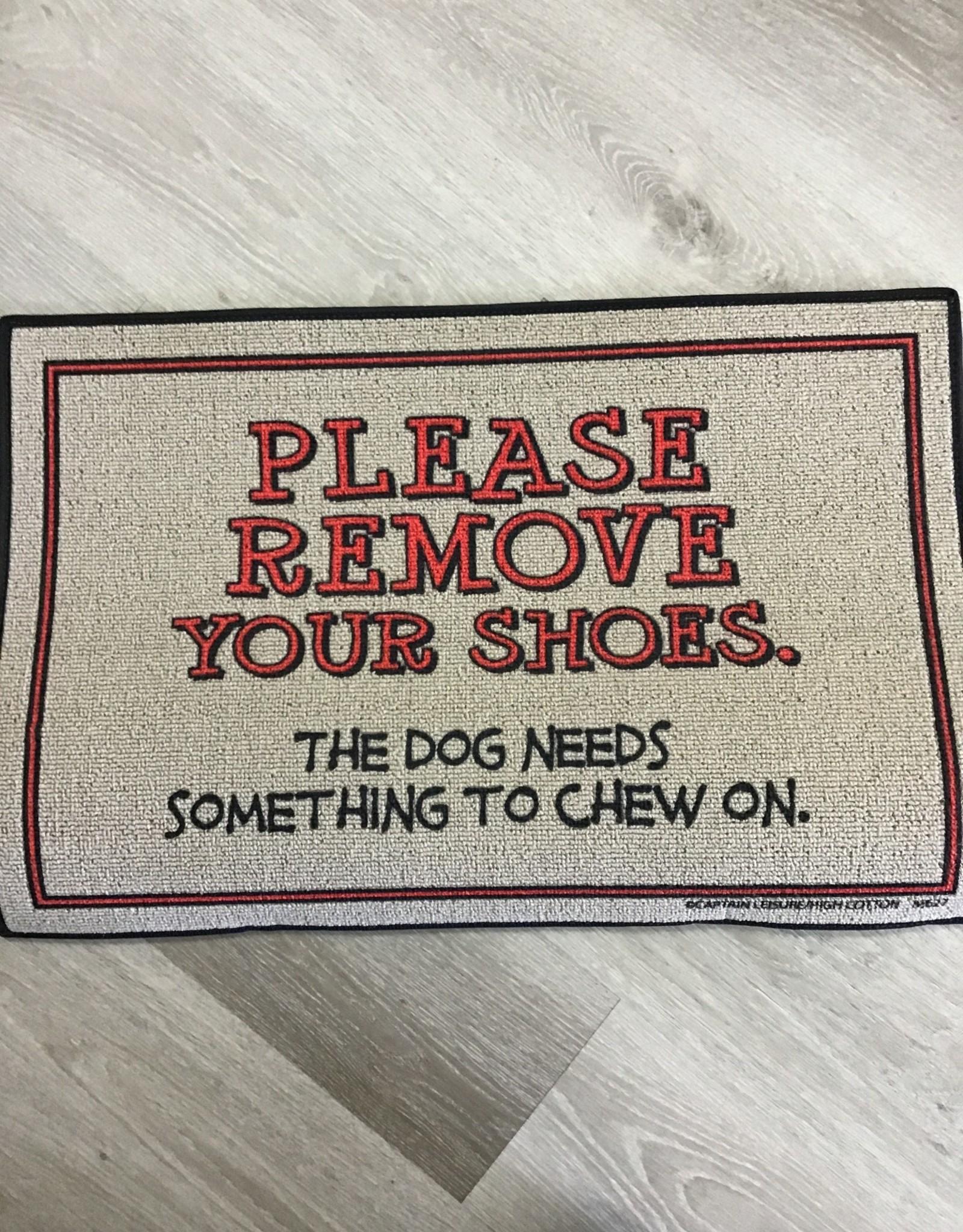 High Cotton Inc Remove Your Shoes Doormat