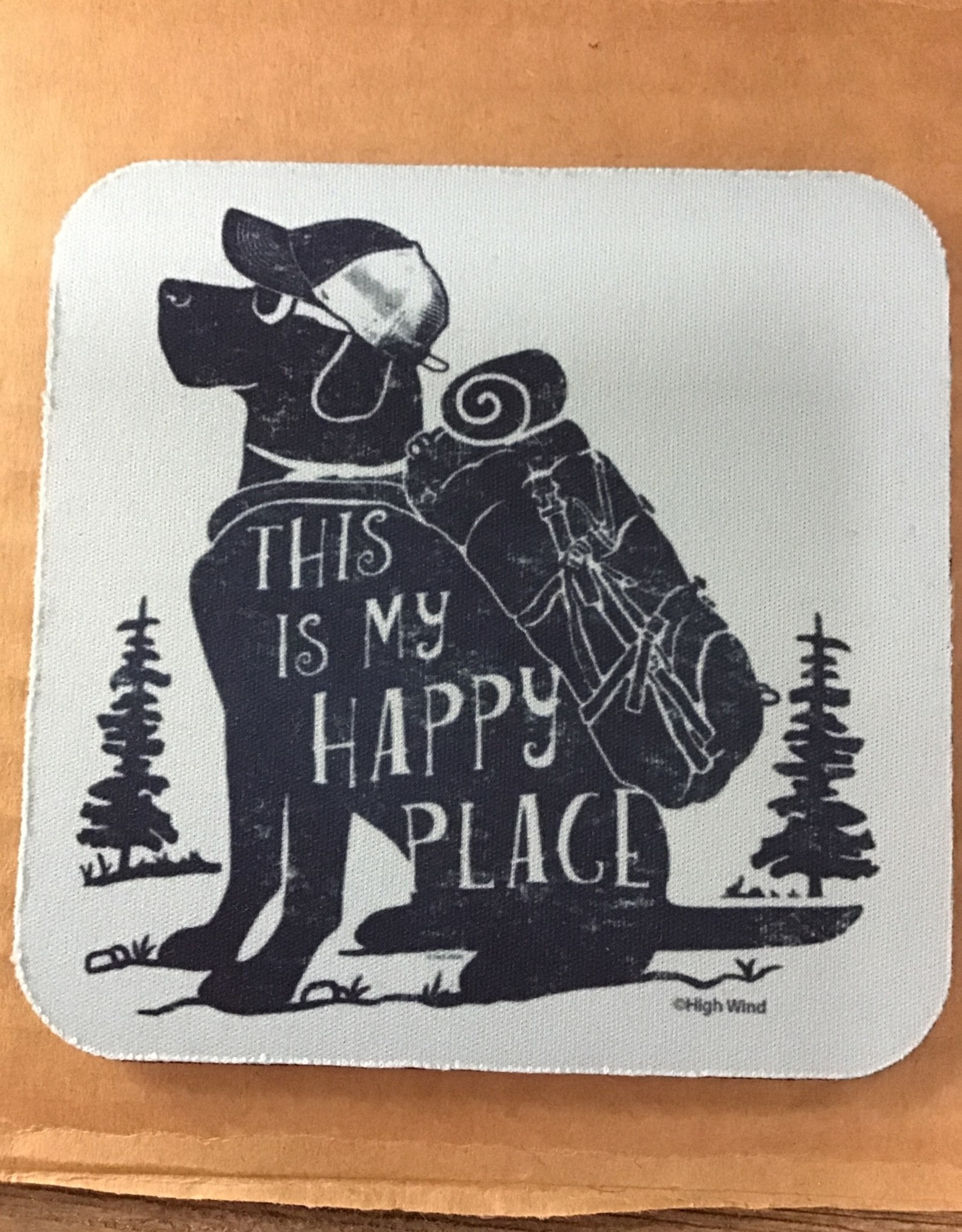 High Cotton Coasters - happy place