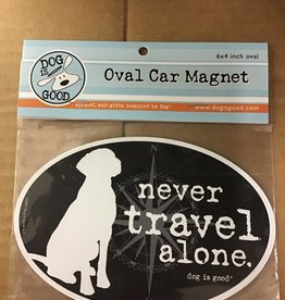 Dog is Good Magnet- Never Travel alone