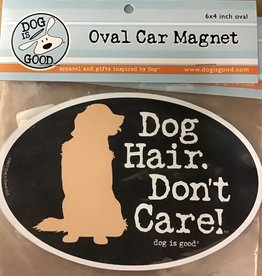 Dog is Good Car magnet dog hair dont care