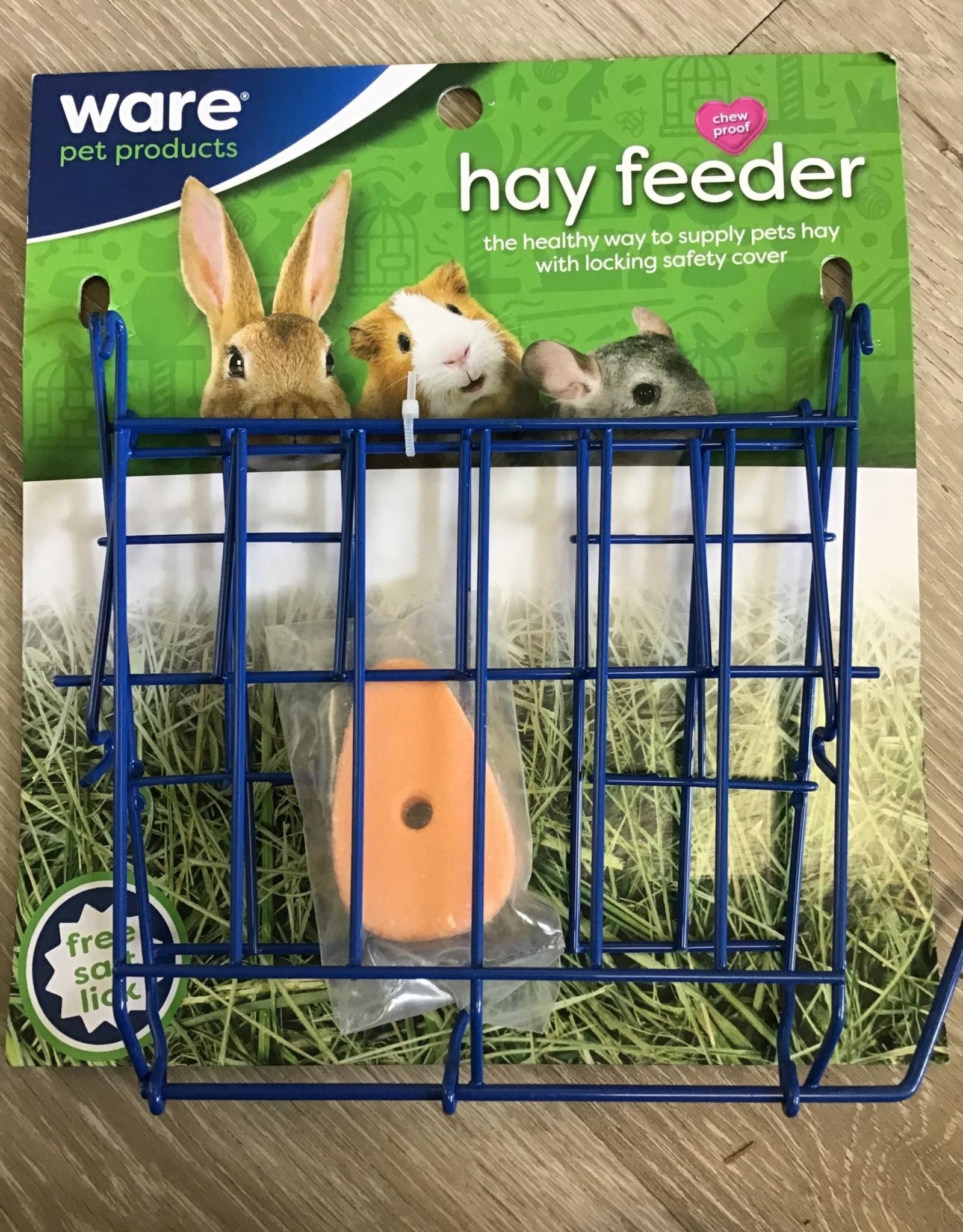 Ware Ware Hay Feeder with Salt Lick