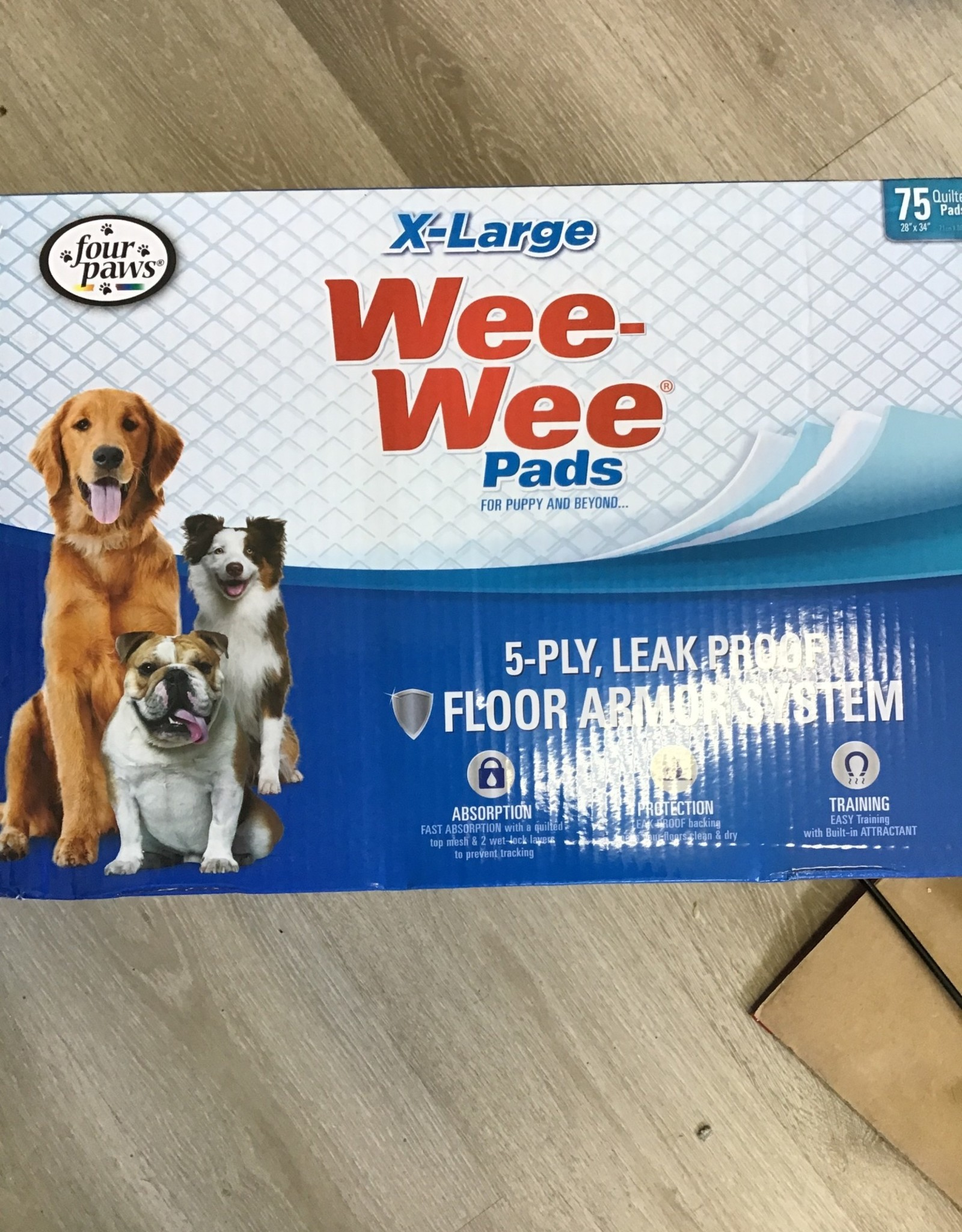 Four Paws Wee Wee Pads XL