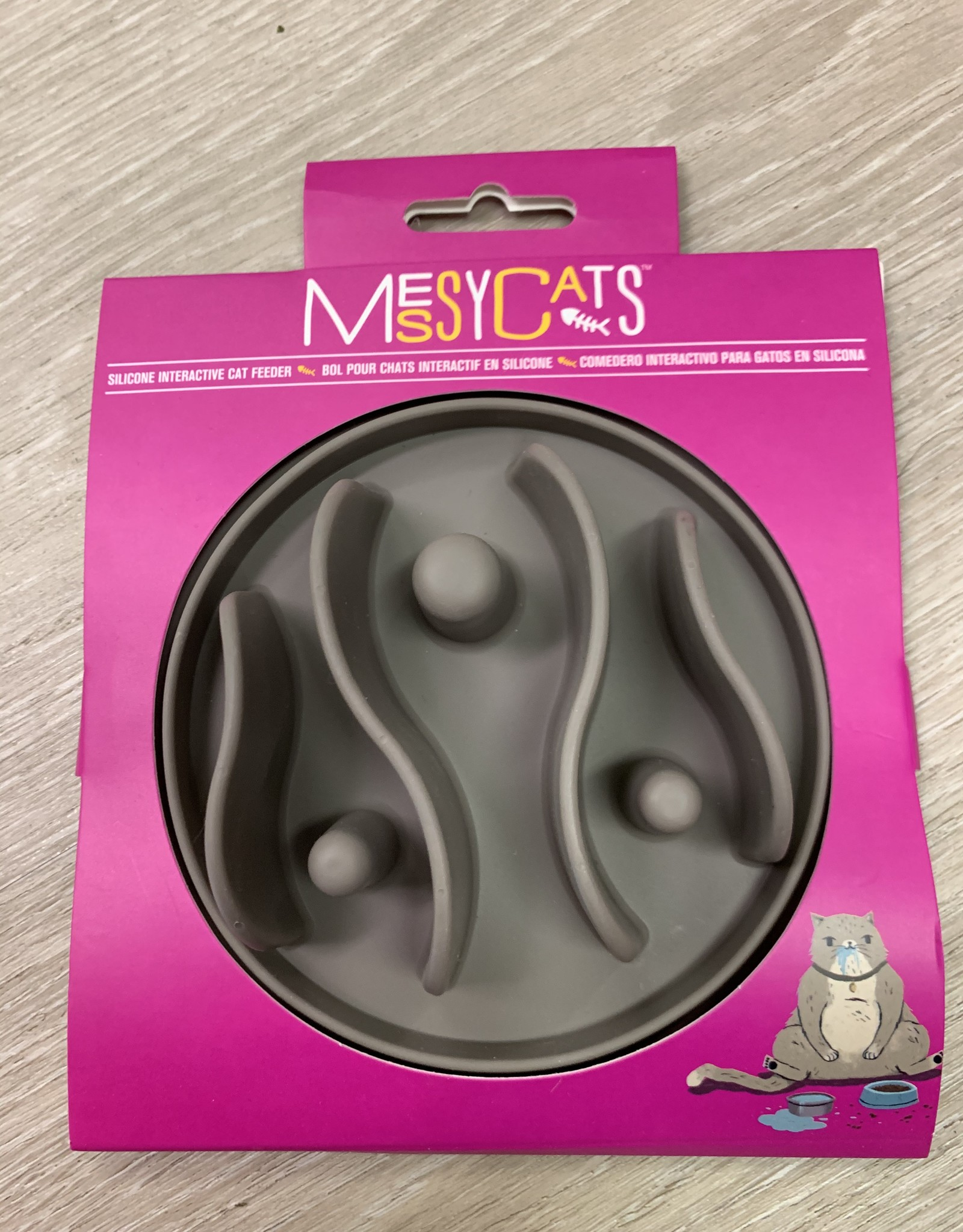 Messy Cats Silicone Interactive Feeder Small