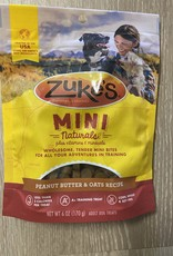 Zukes Zukes Mini Naturals Peanut Butter Treats 6 OZ
