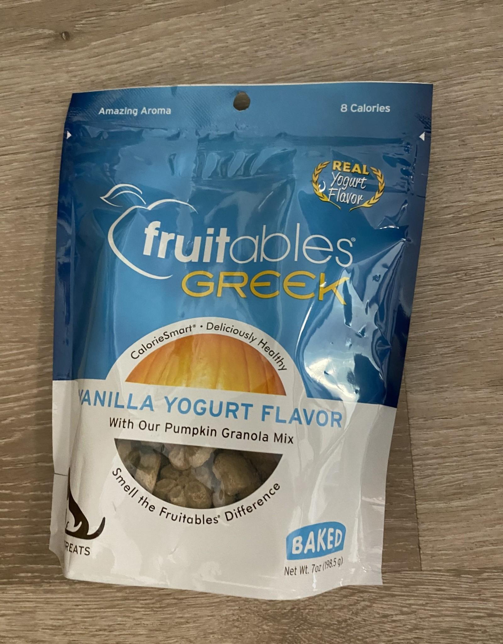 Fruitables Treats - Greek Yogurt Vanilla