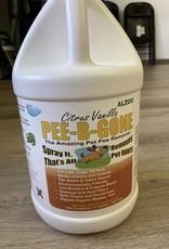 Alzoo Pee-B-Gone - Gallon Citrus Vanilla