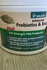 Naturvet NaturVet  - Advanced Powder Probiotics 4oz