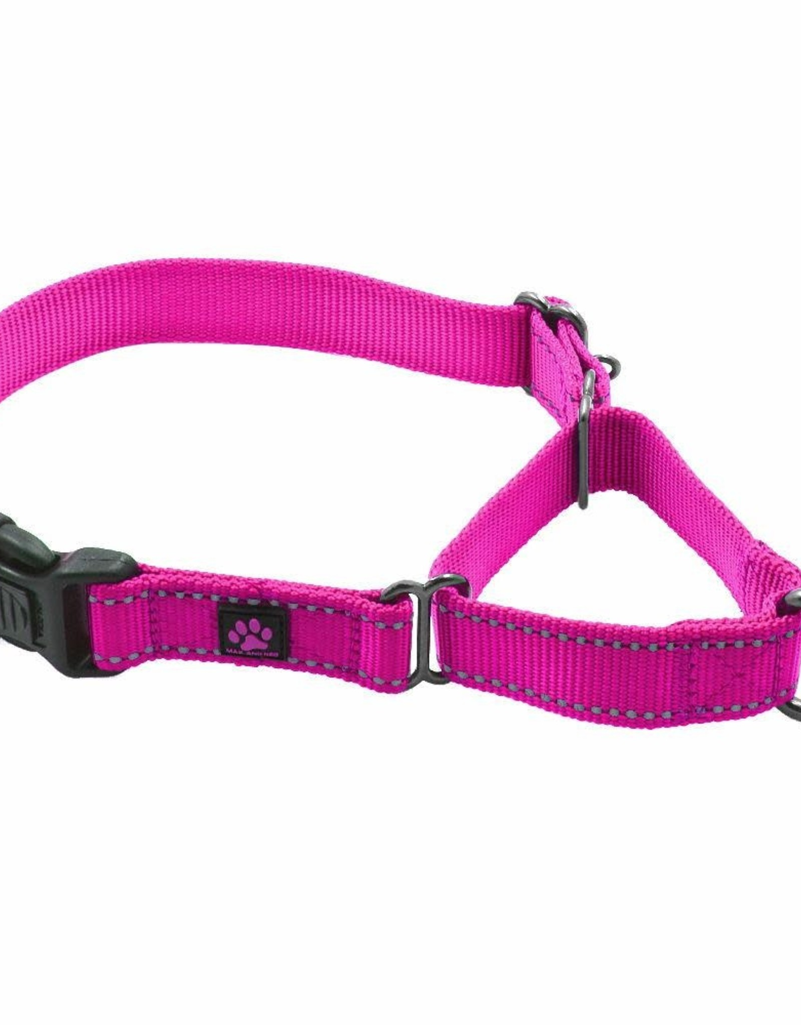 Max & Neo Nylon Martingale- Med Pink