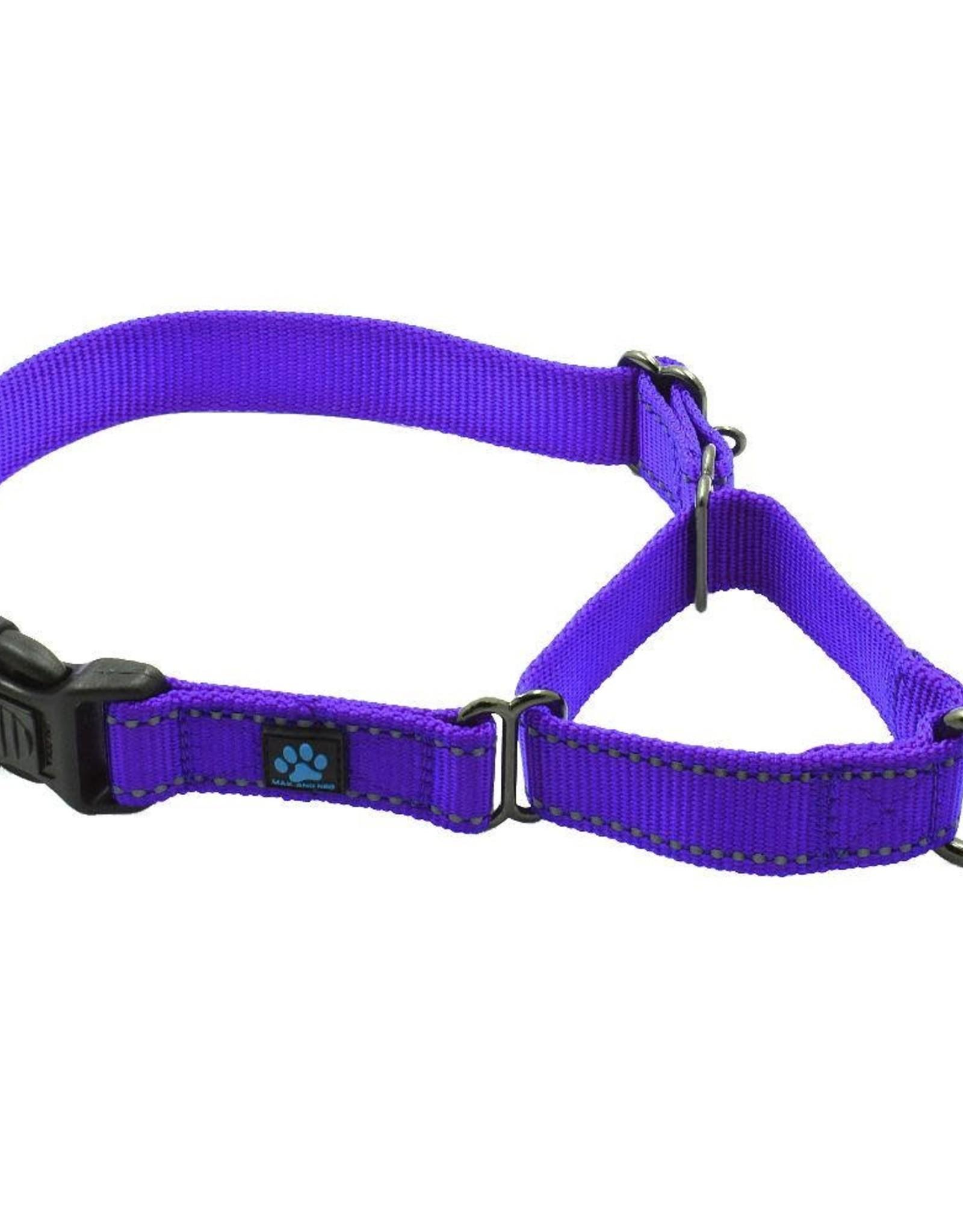 Max & Neo Nylon Martingale- Med Purple