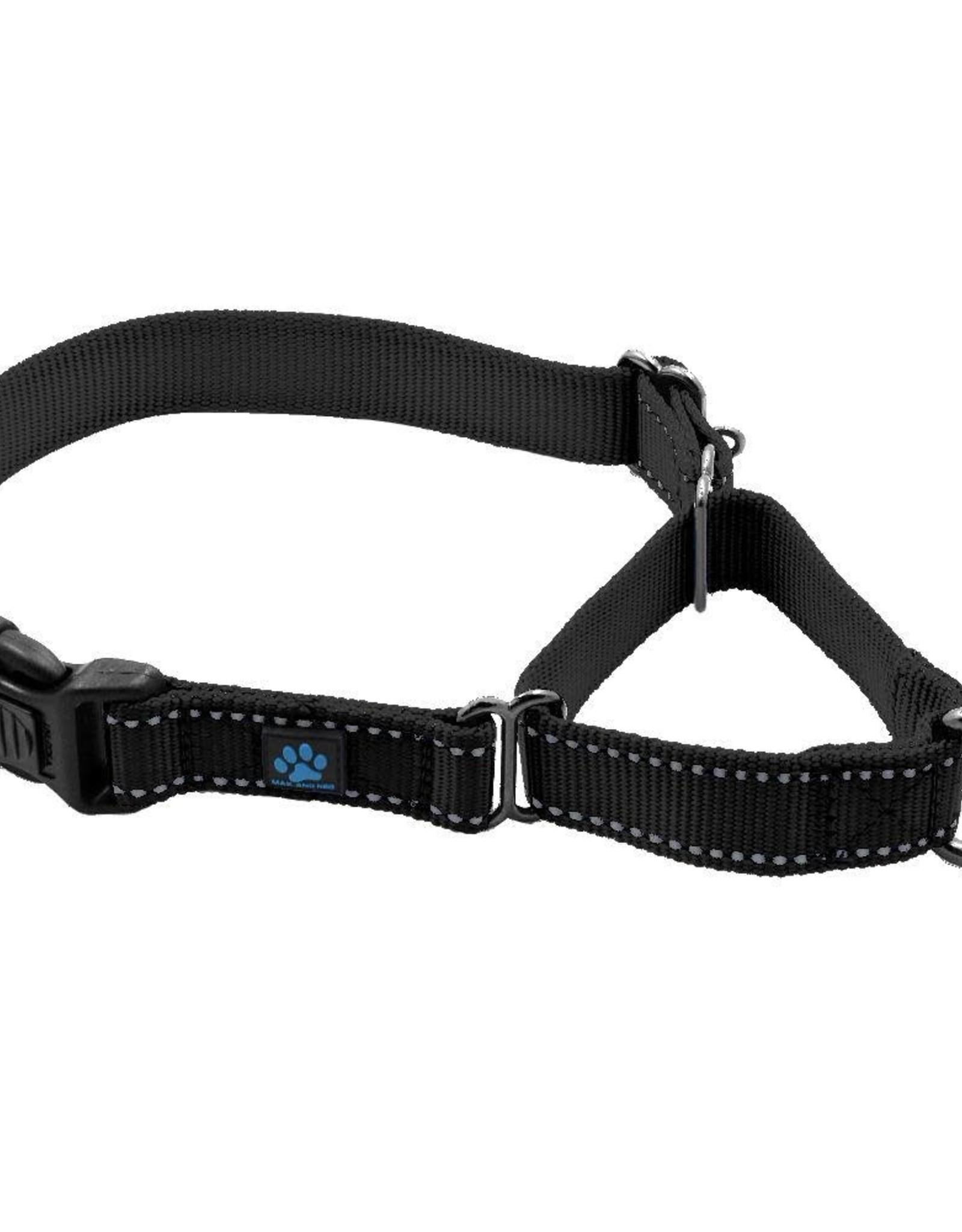 Max & Neo Max & Neo Collars - Small Black Martingale