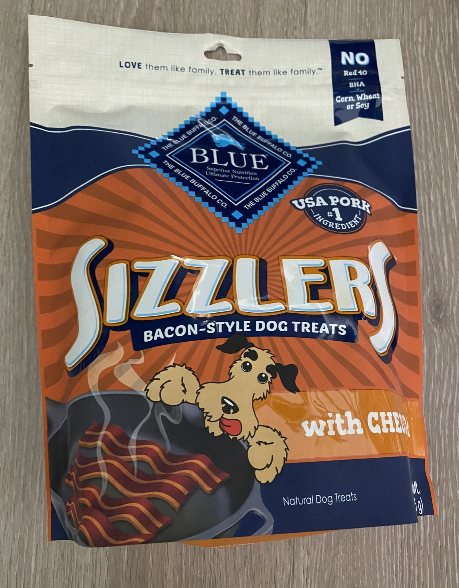 Blue Buffalo Sizzlers Treats - Cheddar 15oz
