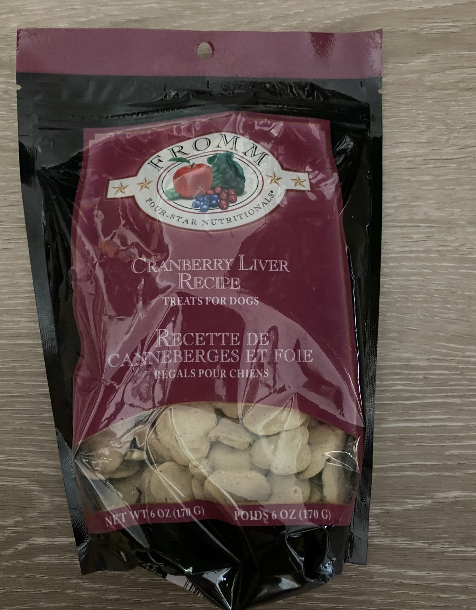 Fromm Four-Star Treats -  Cranberry Liver