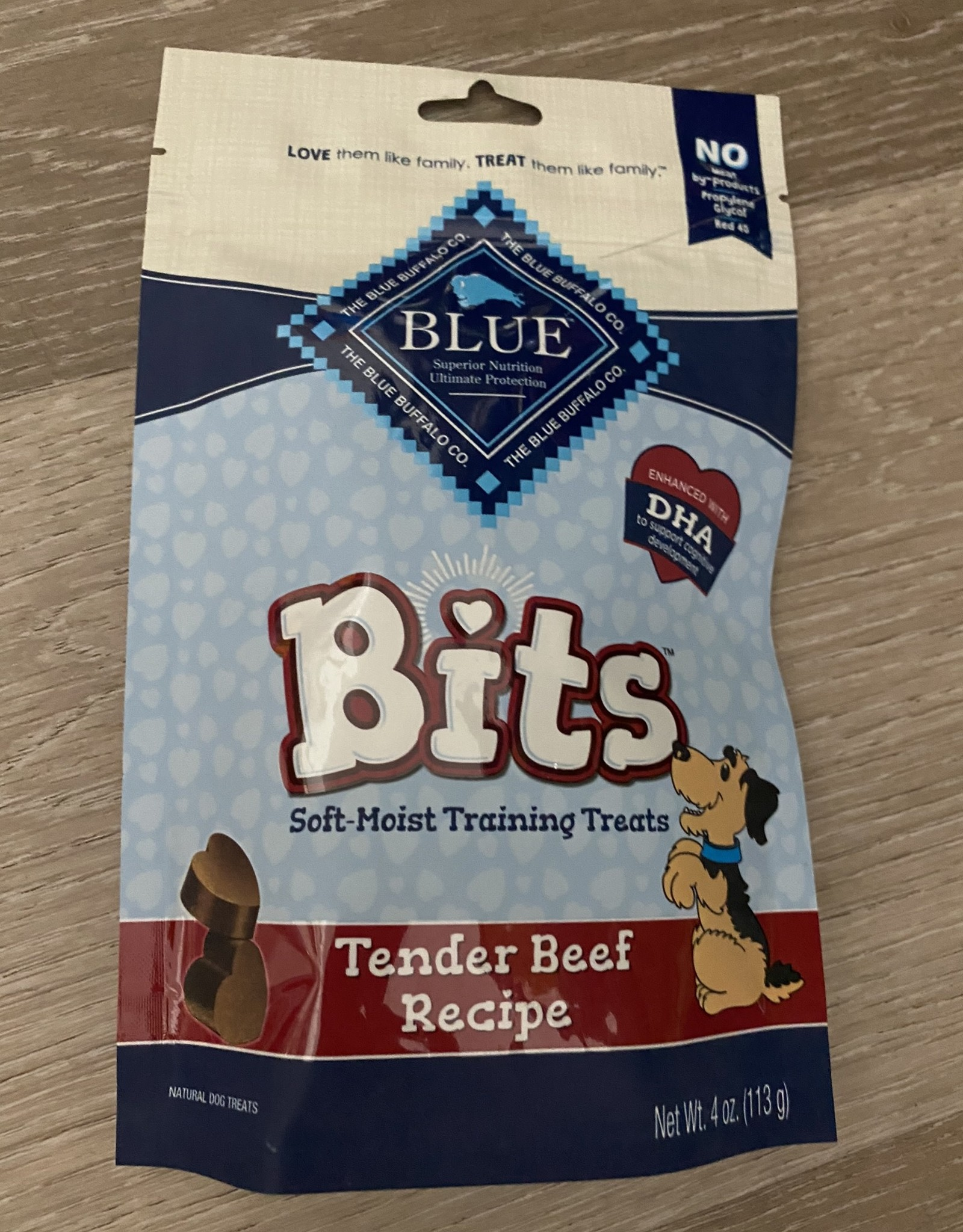 Blue Buffalo Bits Beef Treats 4 oz