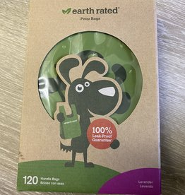 Earth Rated Earth Rated Poop bags - 120 ct w/ handles Lav