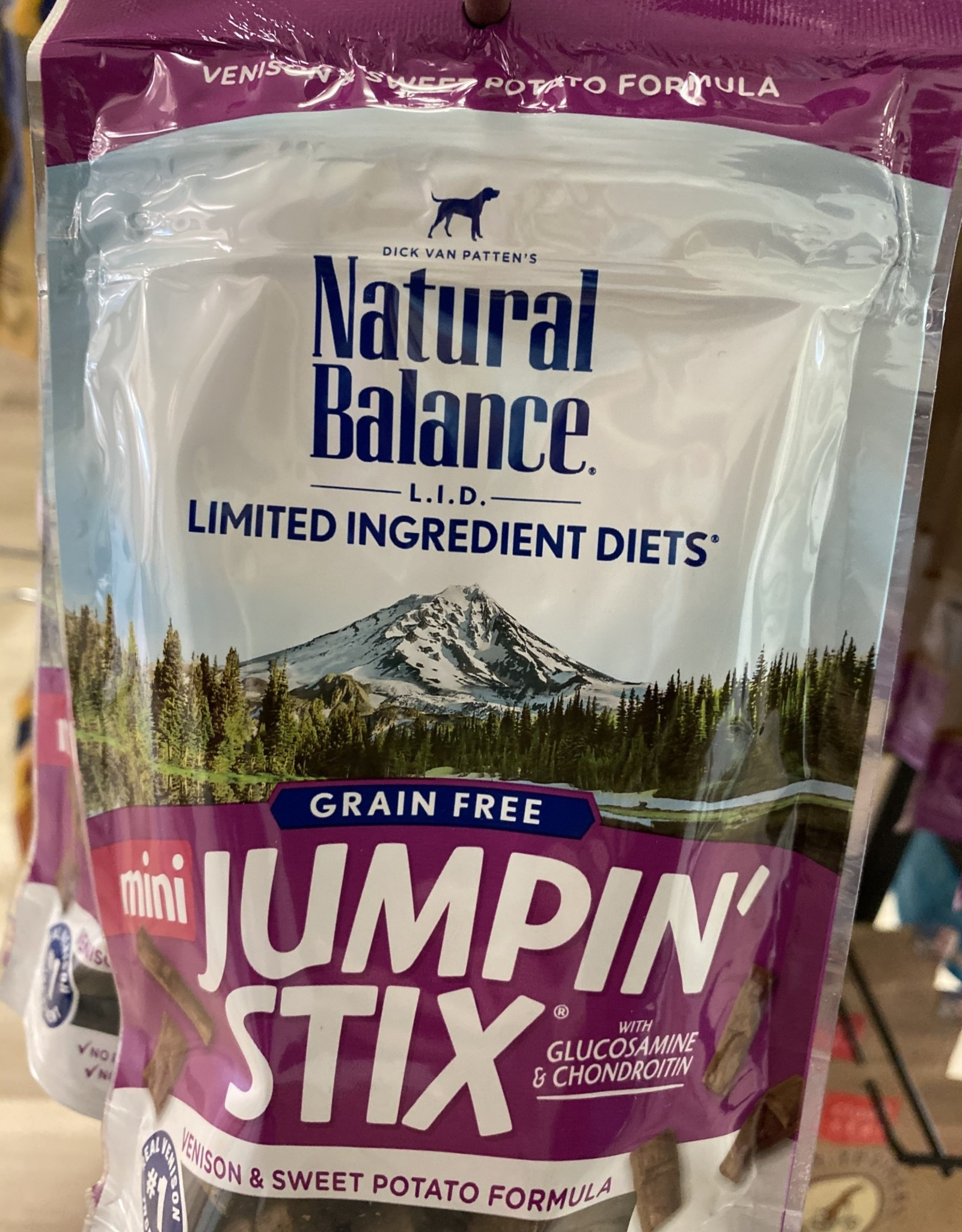 Natural Balance Natural Balance Mini Jumpin Stix Venison 3.5OZ