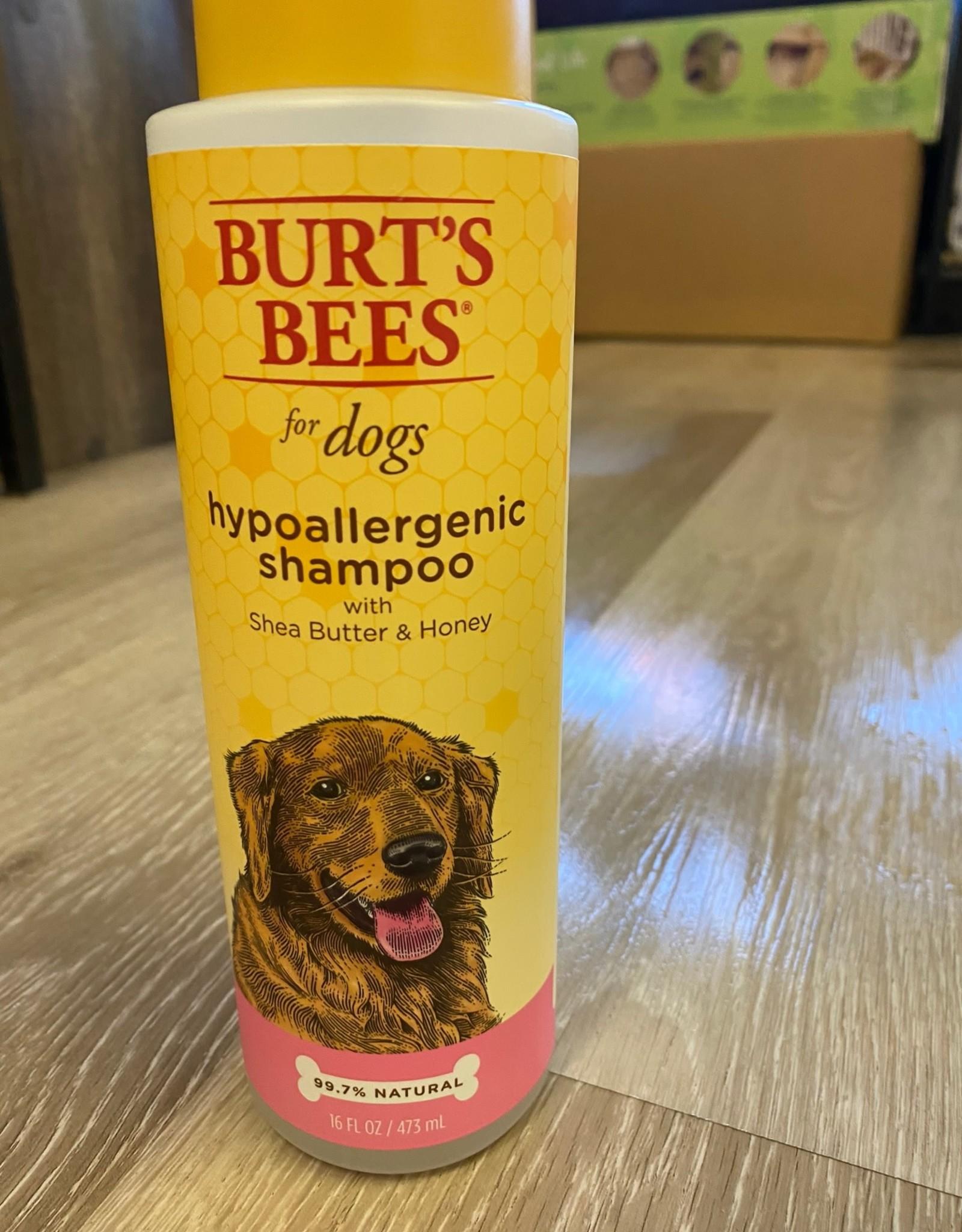 Burts Bees Hypoallergenic Shampoo 16oz Shea Butter
