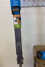 RC Pets Rc Pets Collars - Large Charcoal Martingale