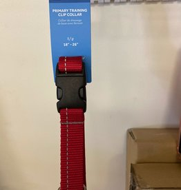 RC Pets Rc Pets Collars - Large Clip Red Martingale